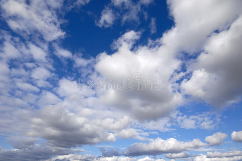 Download Cumulus clouds stock image. Image of cloudscape, cloudy - 6790253