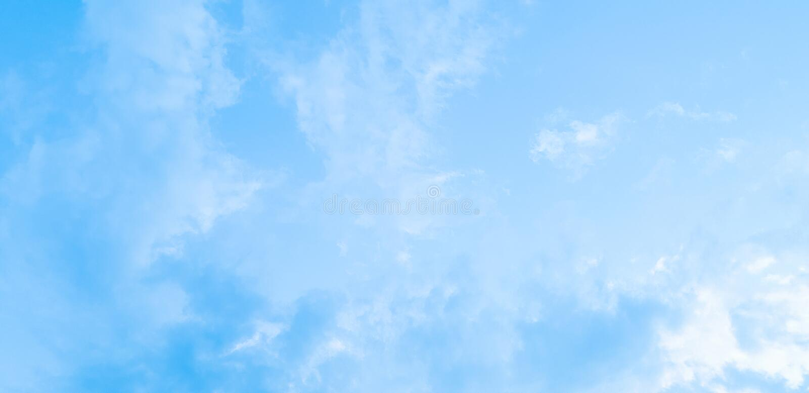 Cumulus of Clouds and blue sky Abstract background royalty free stock photography
