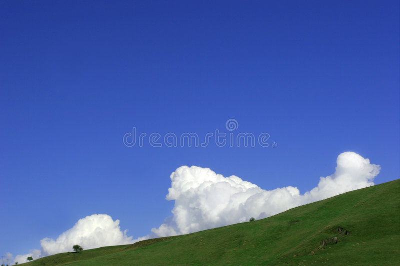 Download Cumulus Clouds Rising stock image. Image of atmosphere - 163471