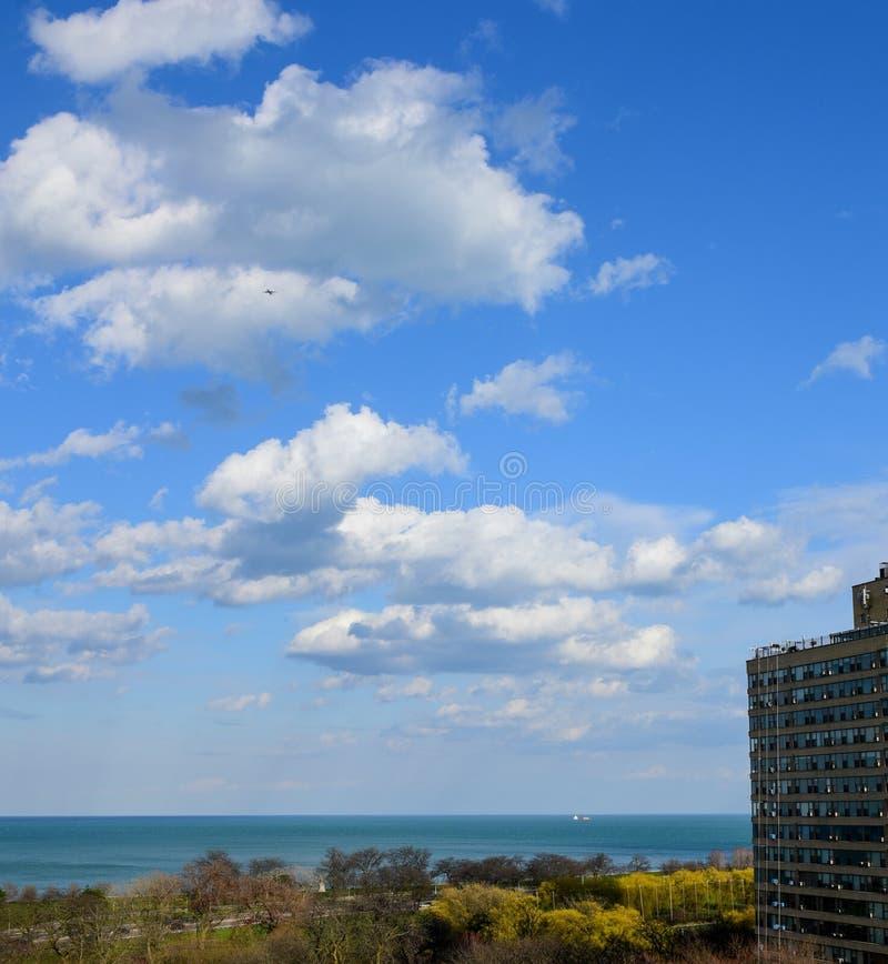 Cumulus Wolken an einem schönen Nachmittag #3 stockfotografie