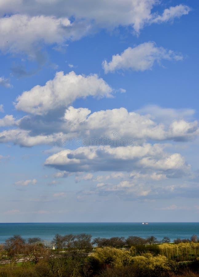 Cumulus Wolken am schönen Nachmittag #2 lizenzfreies stockbild