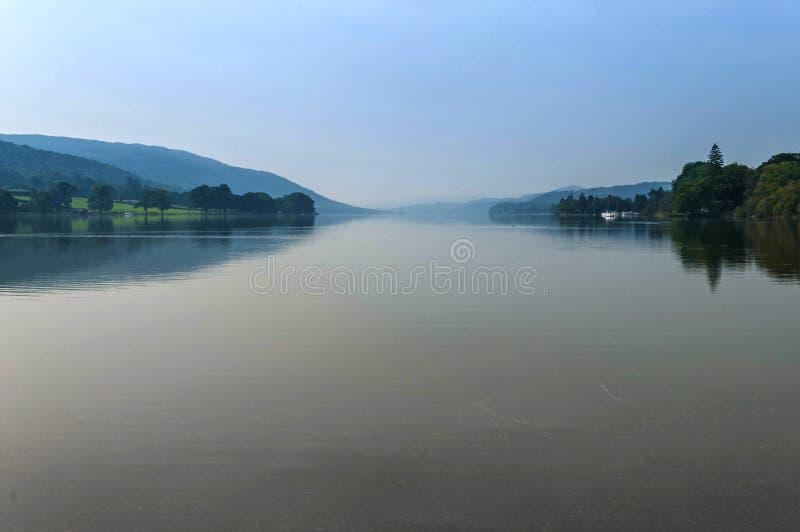 Cunbria van het Conistonwater, Engels meerdistrict royalty-vrije stock foto's