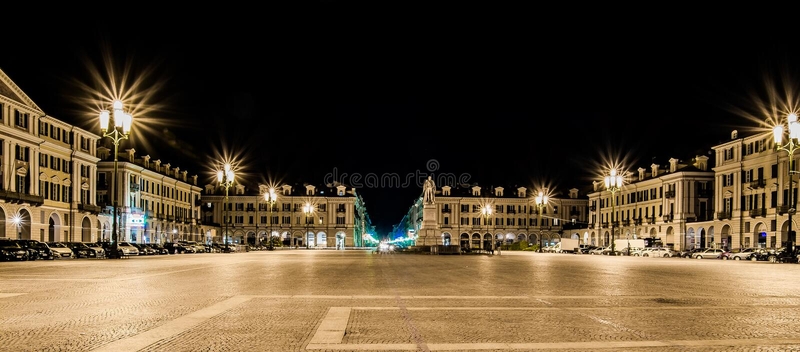 Cuneo - Piazza Galimberti photographie stock libre de droits
