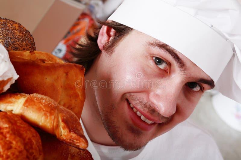 Cuoco del fronte fotografie stock