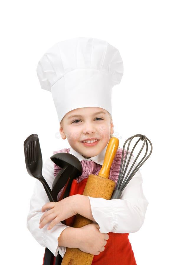Cuoco minore fotografie stock libere da diritti