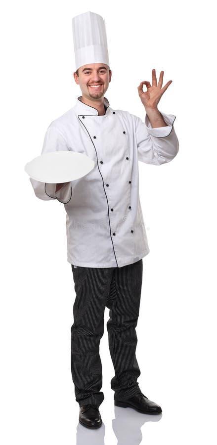 Download Cuoco unico fotografia stock. Immagine di amichevole - 23113048