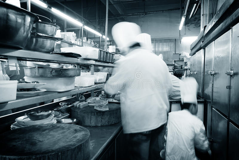 Cuoco unico cinese fotografia stock libera da diritti
