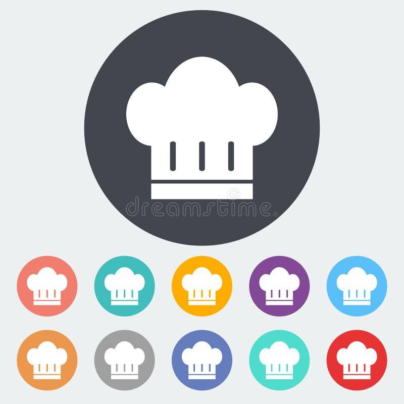 Cuoco unico Hat illustrazione vettoriale