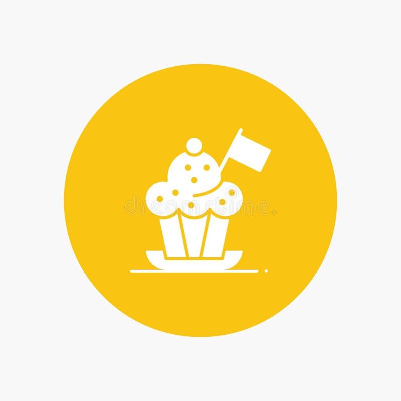 Cuoco unico, cuoco unico Hat, fornello, cappello del fornello, bandiera royalty illustrazione gratis