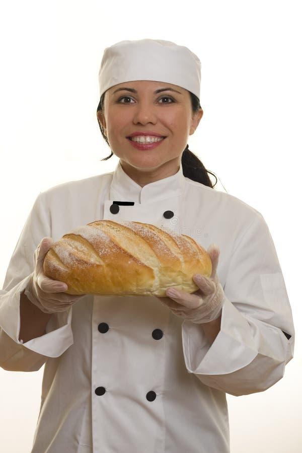 Cuoco unico sorridente immagine stock