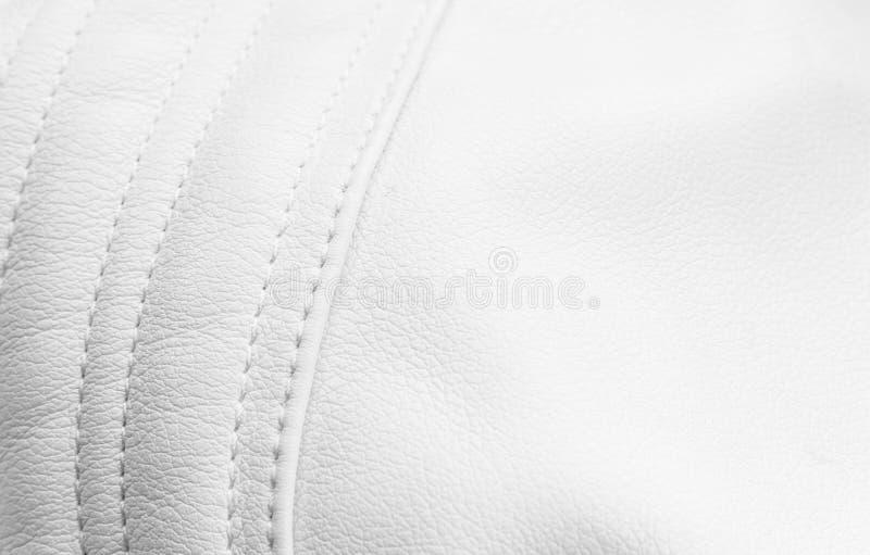 Cuoio bianco immagini stock libere da diritti