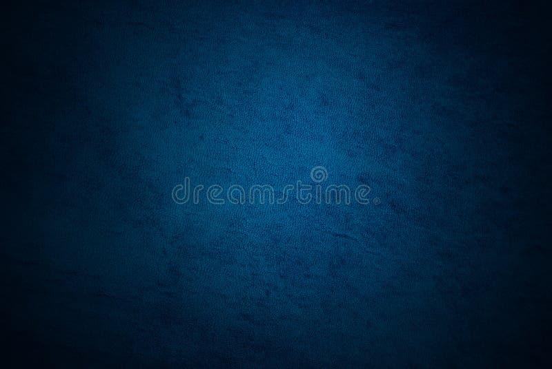 cuoio blu fotografie stock