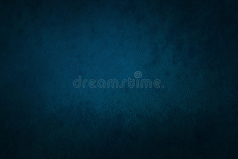 Cuoio blu fotografia stock