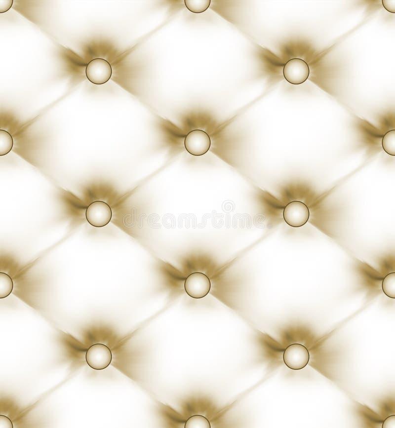 Cuoio chiaro beige abbottonato lusso. ENV 8 royalty illustrazione gratis