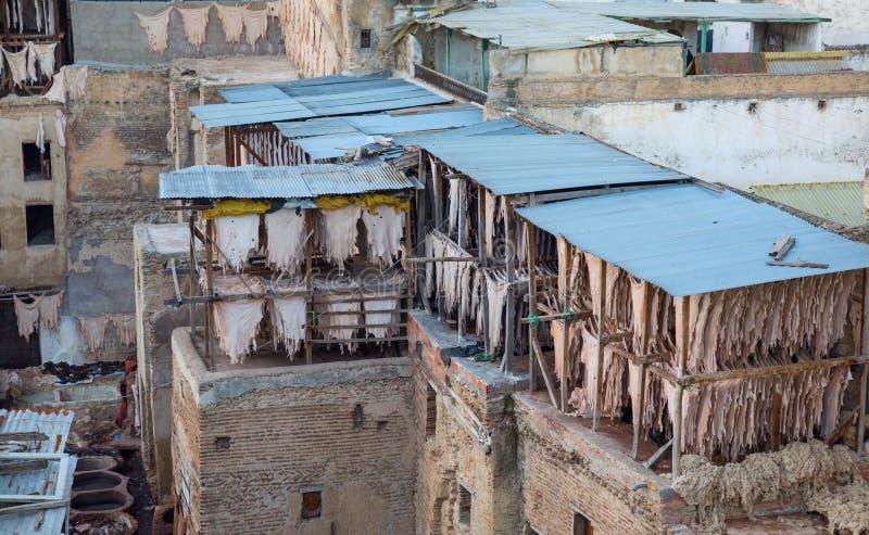 Cuoio marocchino immagine stock