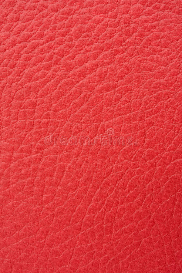 Cuoio rosso fotografie stock libere da diritti