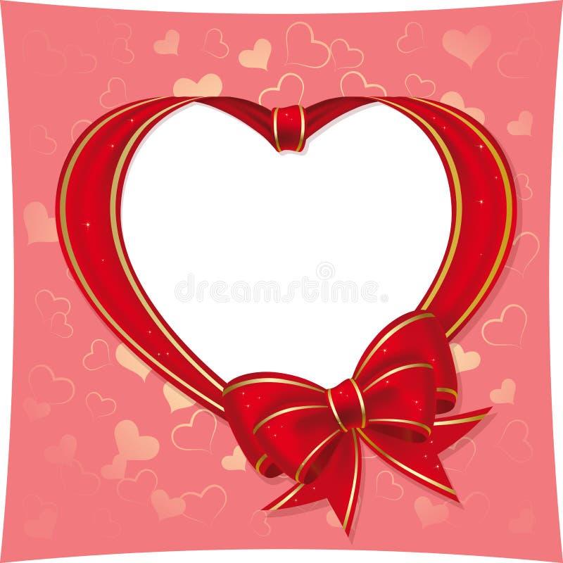 Cuore allo St.Valentine illustrazione vettoriale