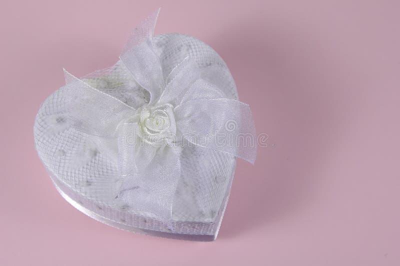 Cuore Bianco Immagine Stock
