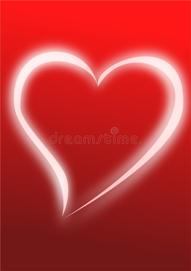 Download Cuore d'ardore illustrazione vettoriale. Illustrazione di valentine - 7316731