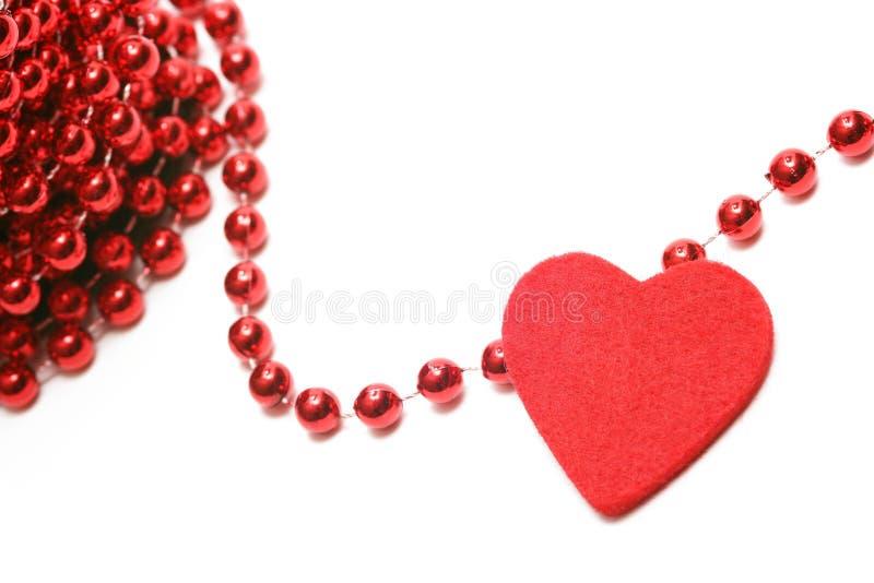 Cuore del biglietto di S. Valentino fotografie stock libere da diritti
