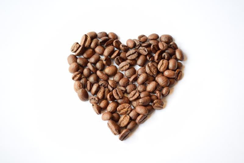Cuore del caffè immagini stock