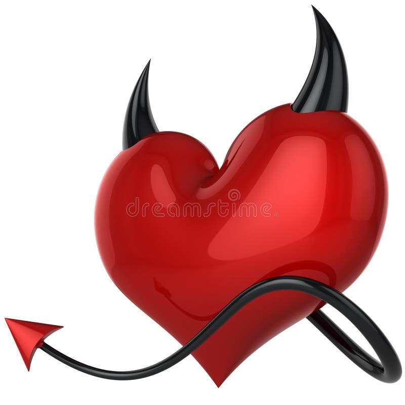 Cuore del diavolo. Amore fatidico (noleggi) royalty illustrazione gratis