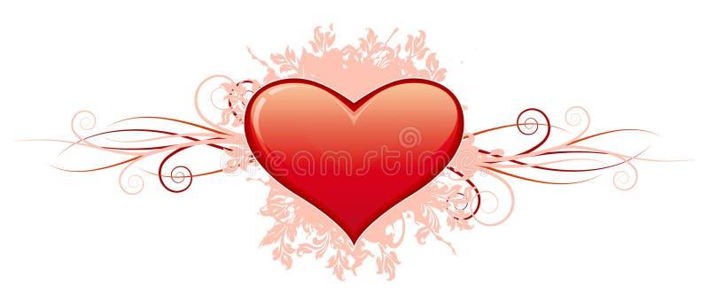 Download Cuore Di Giorno Del Biglietto Di S. Valentino Illustrazione Vettoriale - Illustrazione di concetti, oggetto: 7323692
