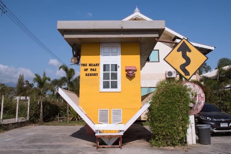 Cuore di Pai Resort, Tailandia fotografia stock