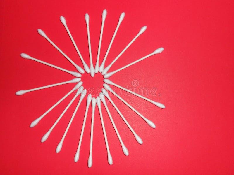 Cuore di Q-Tip fotografia stock libera da diritti