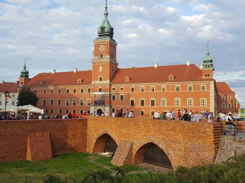 Cuore di Varsavia fotografia stock