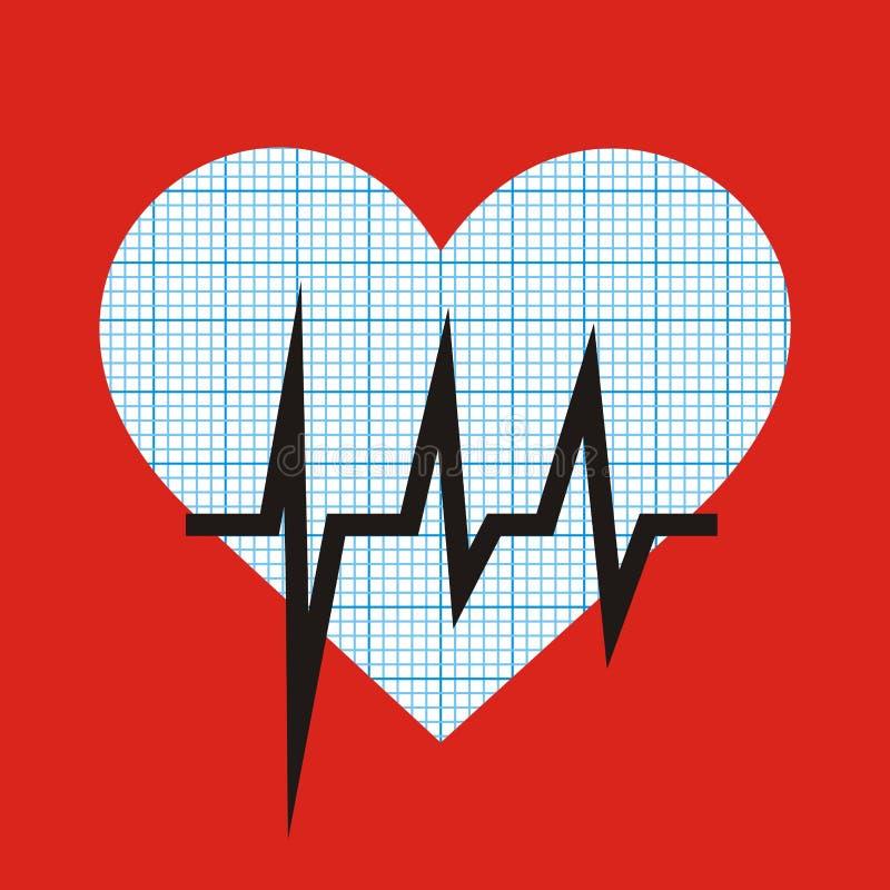 Download Cuore e grafico illustrazione vettoriale. Illustrazione di cardiologia - 56883936