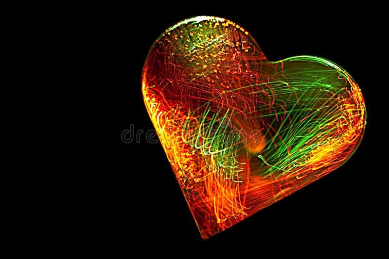 Cuore Elettrificato Fotografia Stock
