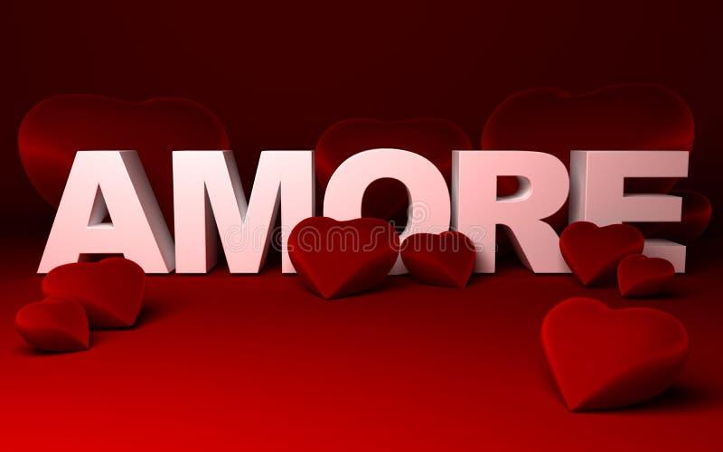 Cuori e amore (amore) fotografia stock