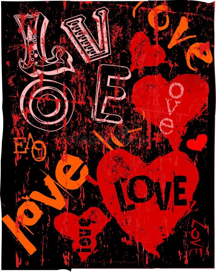 Cuori ed amore royalty illustrazione gratis
