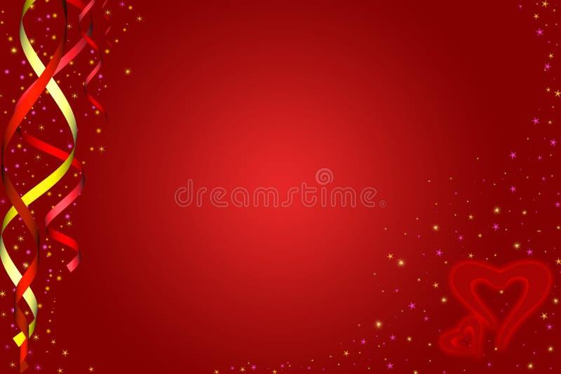 Cuori \ giorno dei biglietti di S. Valentino royalty illustrazione gratis