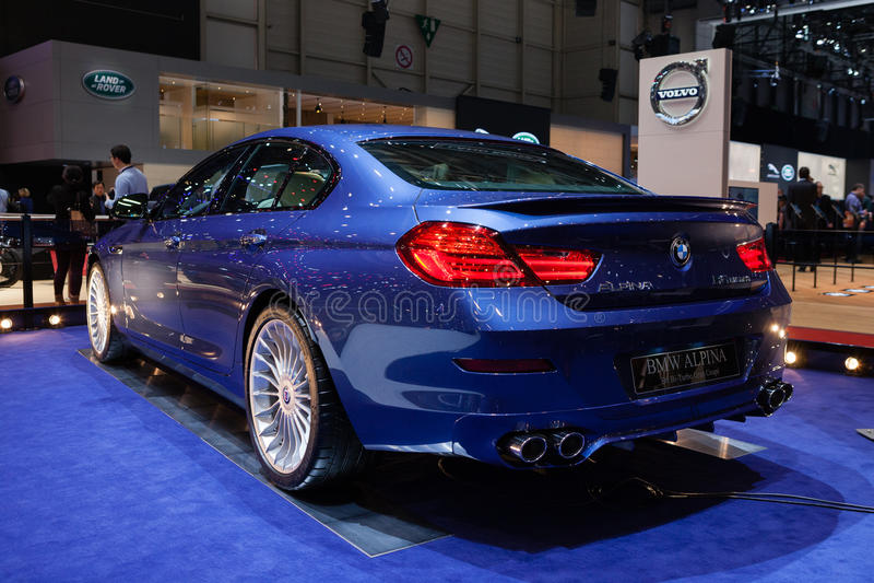 Cupé de BMW Alpina B6 BI-turbo Gran imágenes de archivo libres de regalías