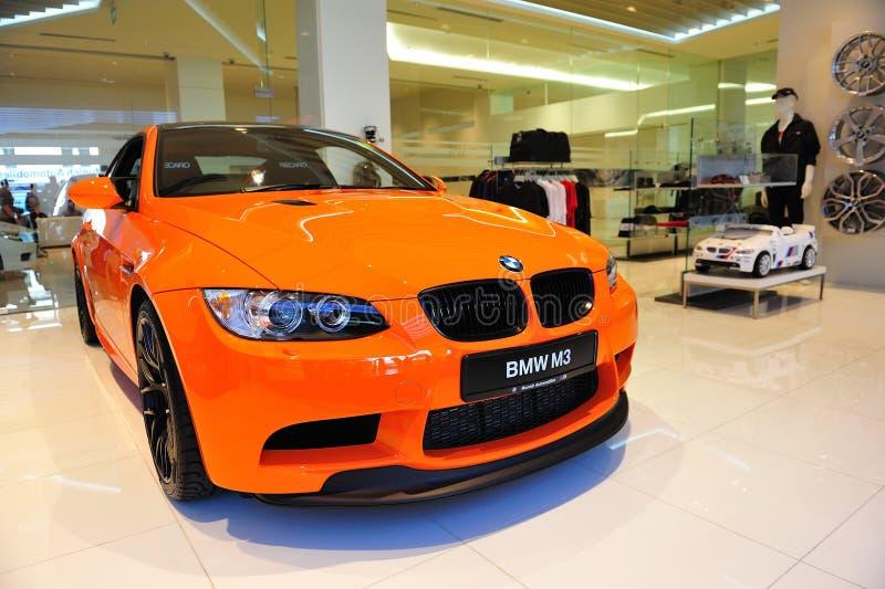 Cupé de BMW M3 GTS fotografia de stock
