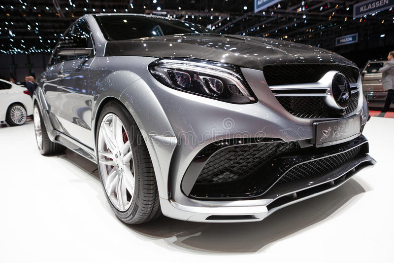 Cupé de Hamann Mercedes-Benz GLE imagen de archivo libre de regalías