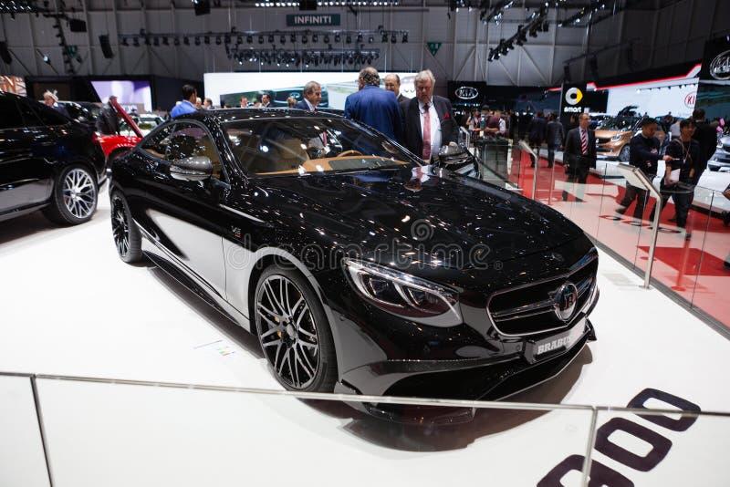 Cupé de la S-clase de Brabus Mercedes Benz fotos de archivo