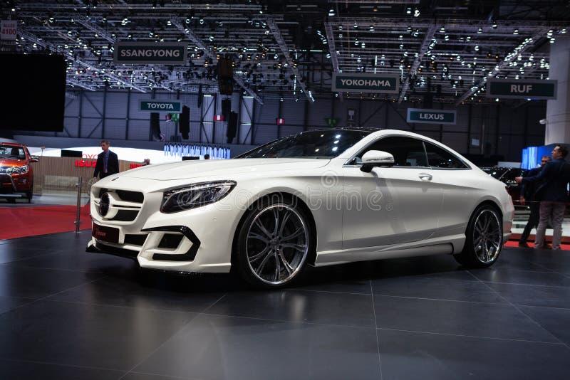 Cupé de la S-clase de FAB Design Mercedes Benz imágenes de archivo libres de regalías