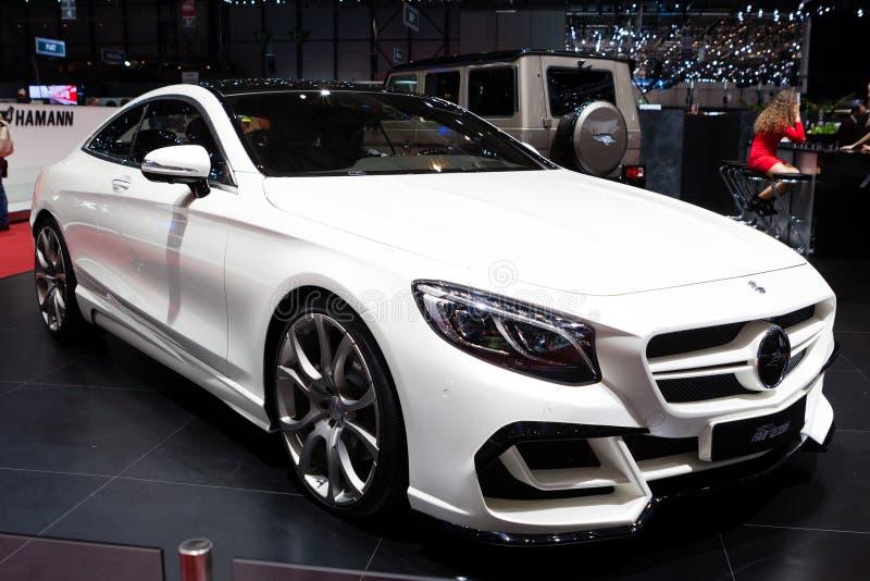 Cupé de la S-clase de FAB Design Mercedes Benz fotos de archivo