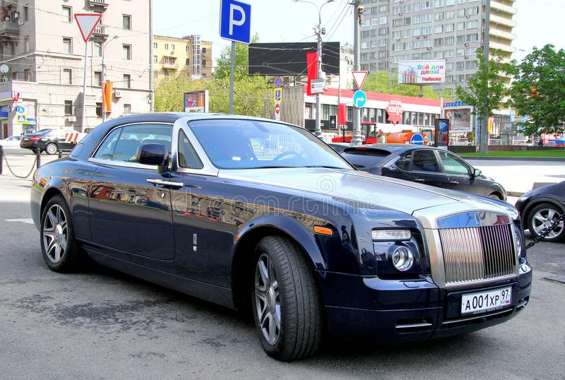 Cupé de Rolls-Royce Phantom imagens de stock