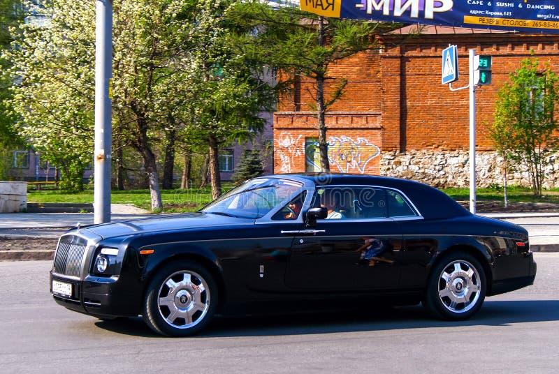 Cupé de Rolls-Royce Phantom fotografia de stock