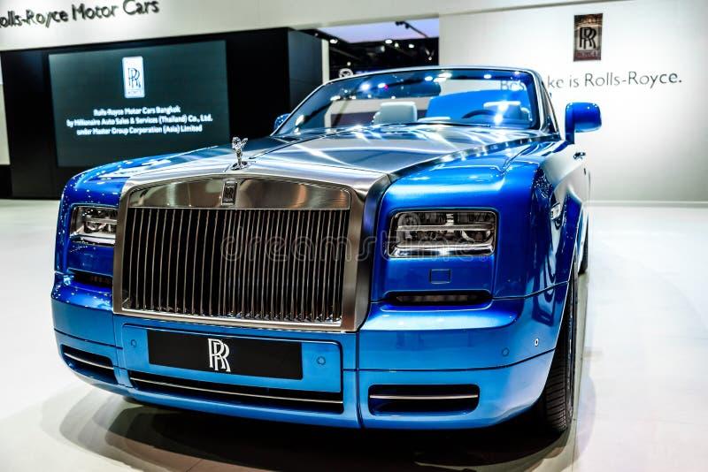 Cupé fantasma de Rolls Royce Drophead fotos de stock royalty free