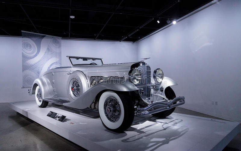 Cupê 1936 do Convertible do modelo SJN de Duesenberg imagens de stock royalty free