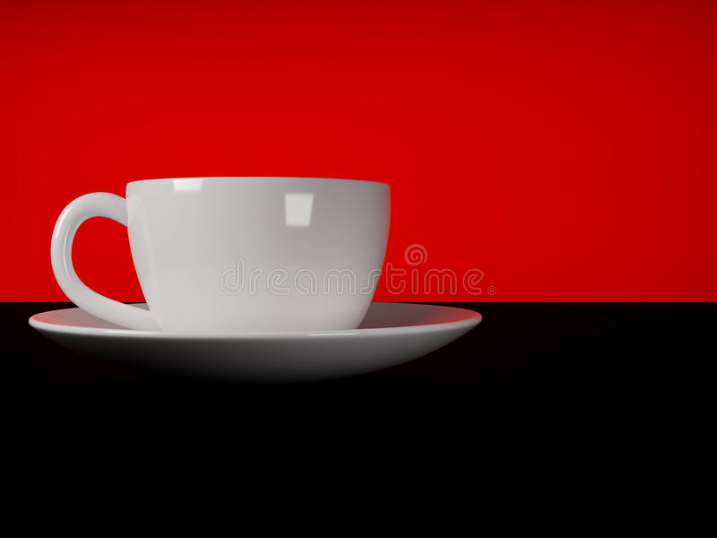 Download Cup stock illustration. Image of coffee, china, espresso - 14404615