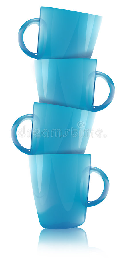 Download Cup stock illustration. Illustration of sparkling, refreshments - 7571966