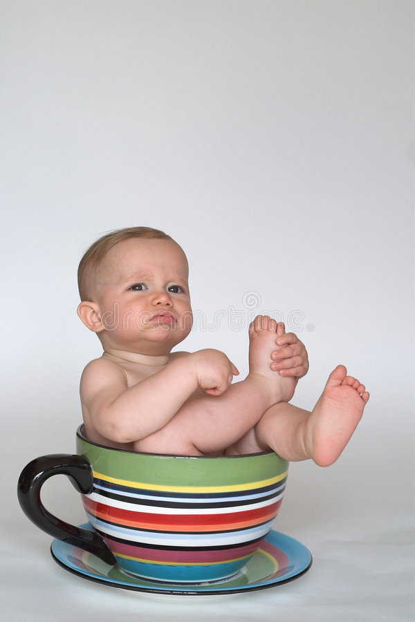 Download A Cup Of Baby Stock Photo - Image: 2250960