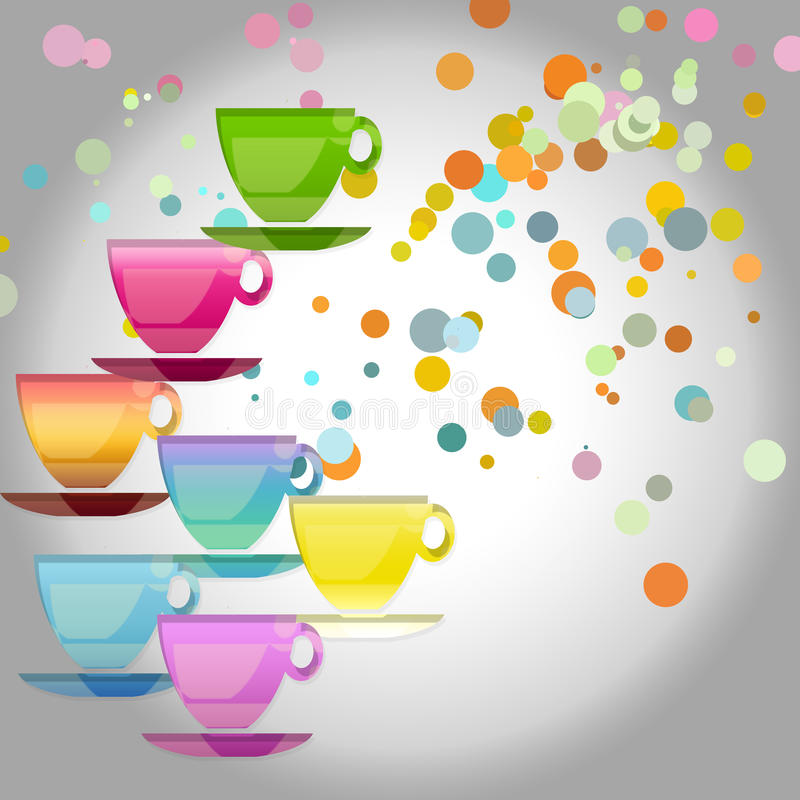Cup royalty free illustration