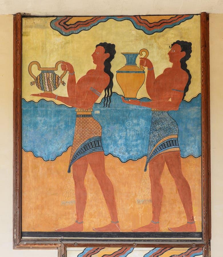 Cup bearer Fresco stock photos